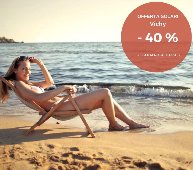 offerta sconto solari Vichy-promozione creme solari prezzo scontato