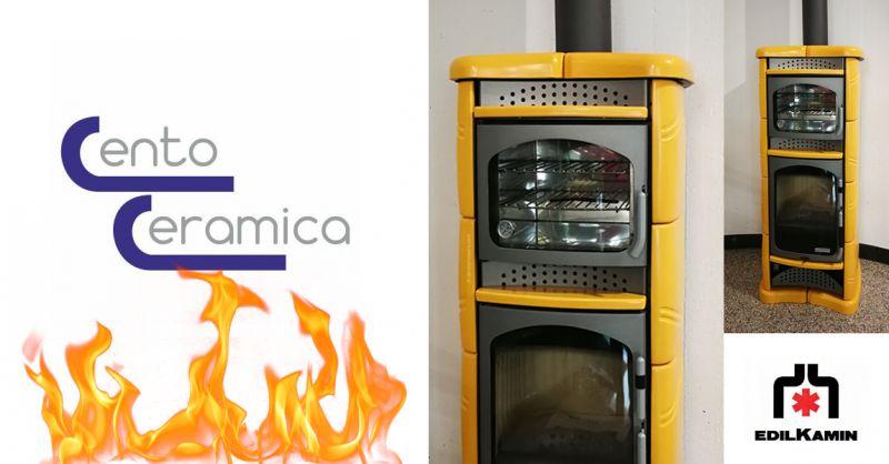 CENTO CERAMICA - offerta stufa con forno ventilato edilkamin ascoli piceno