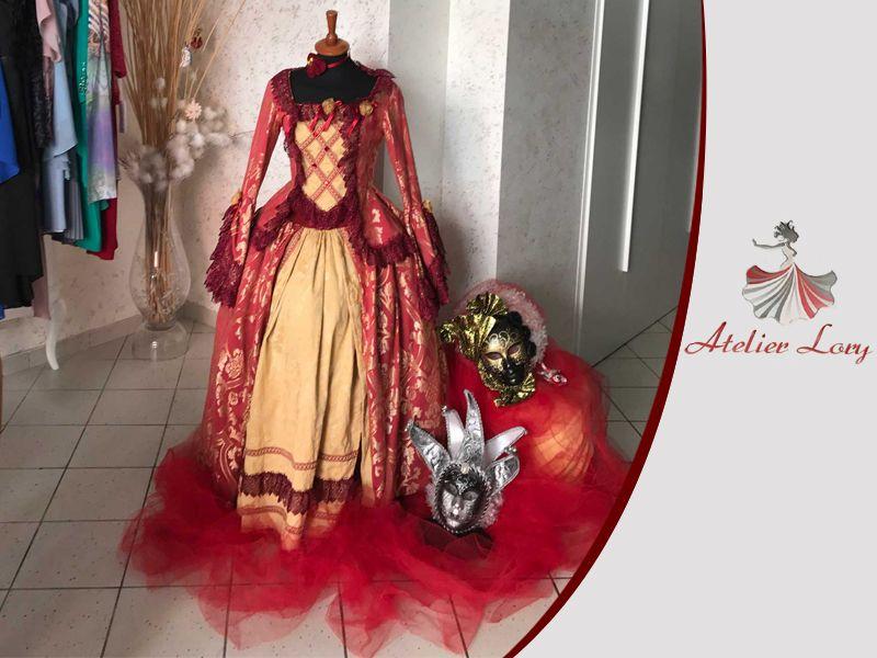 Offerta servizio sartoriale carnevale - Promozione realizzazione abiti da cerimonia artigianali