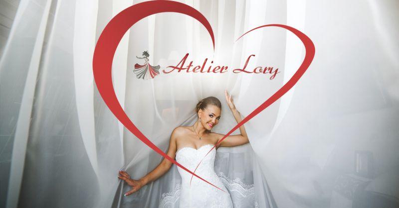 Offerta realizzazione abiti da sposa artigianali made in Italy a Lecce -  Atelier Lorymoda