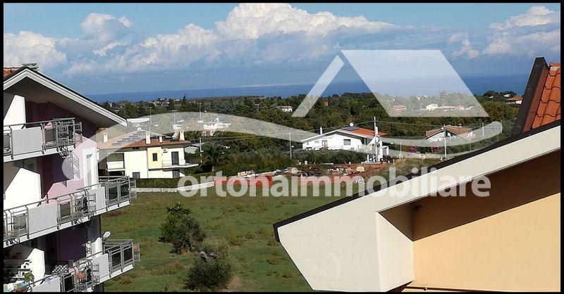 Ortonaimmobiliare - Occasione appartamento mansarda vista panoramica collina Giuliano Teatrino