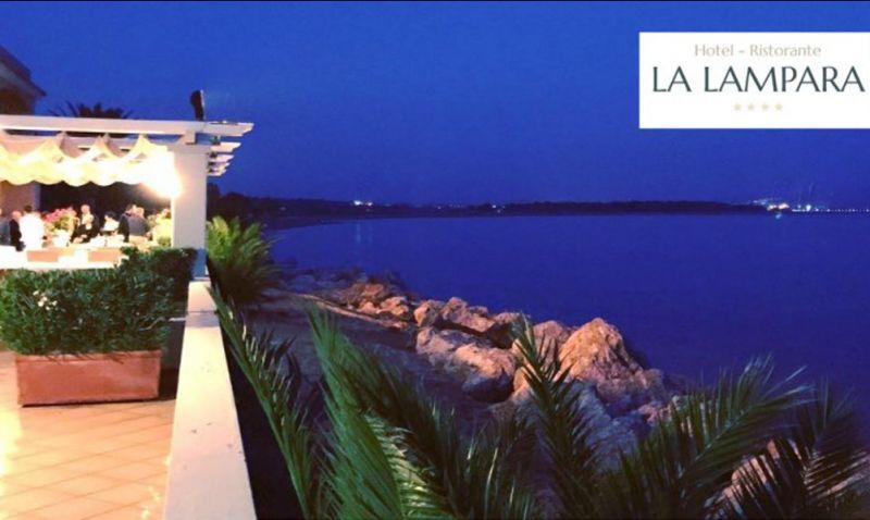 Offerta hotel ristorante lampara Gizzeria Lamezia Catanzaro specialità pesce lusso sala meeting