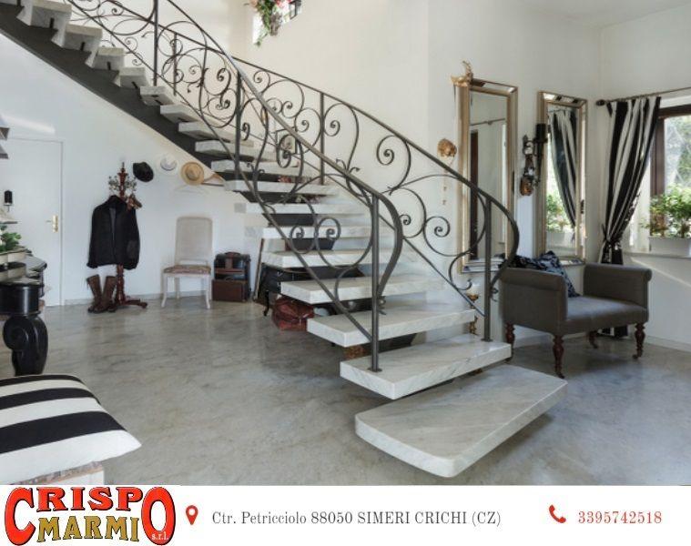 Offerta realizzazione scale in marmo catanzaro - promozione marmo carrara rosa portogallo