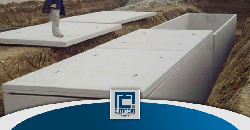 offerta realizzazione Cisterne e serbatoi in cemento - occasione Vasche raccolta prima pioggia