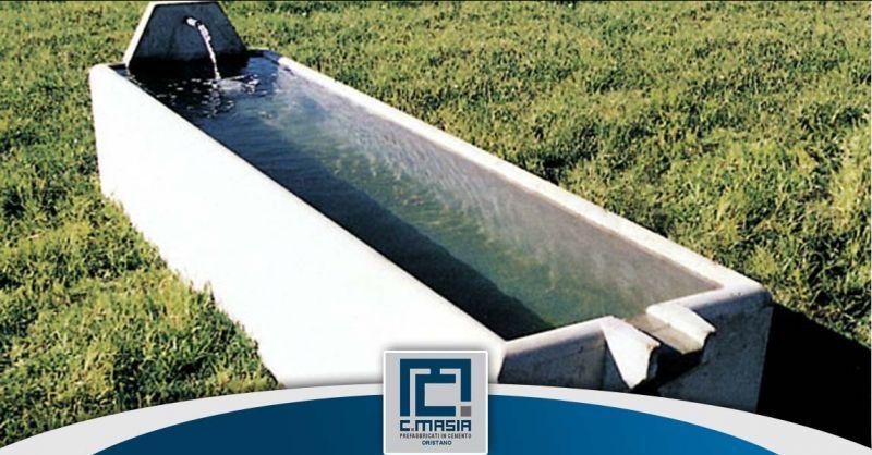Offerta Produzione Abbeveratoi in cemento Cagliari - Occasione vasche per zootecnica Oristano