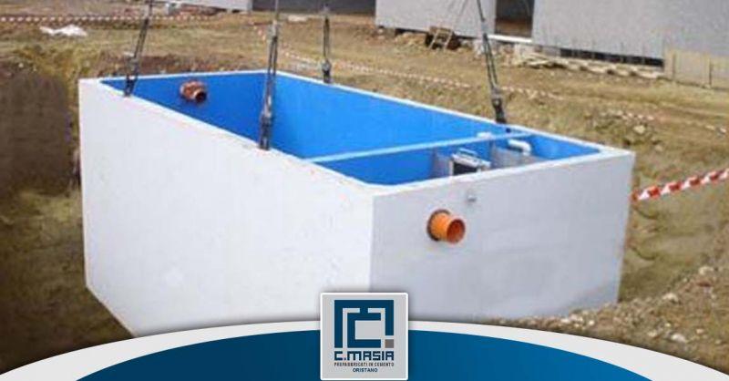Offerta Impianti di trattamento acque prima pioggia Cagliari - Occasione Vasche in calcestruzzo