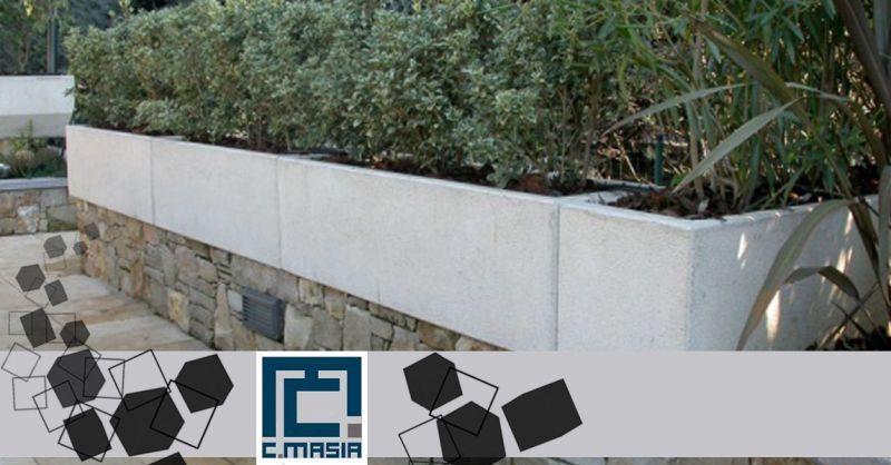 Offerta Fioriere per spazi pubblici in Cemento Cagliari - Occasione arredo urbano fioriere design Oristano