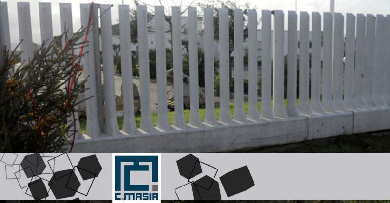 Offerta Realizzazione Recinzioni a pettine - Occasione Recinzioni in Cemento a pali e lastre ad incasso