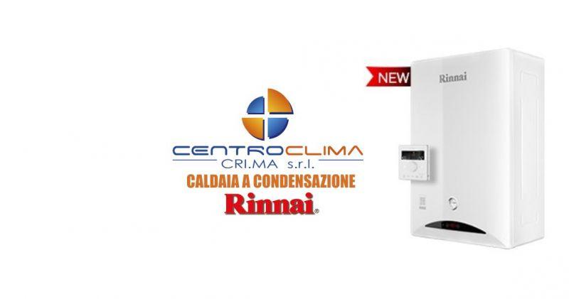 CentroClima Tortoli - offerta Caldaia Rinnai a condensazione Zen cronotermostato WI-FI