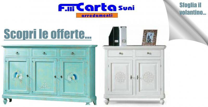 Fratelli Carta Suni nuovo volantino GRUPPO ACS - offerta mobili Sardi in legno massello