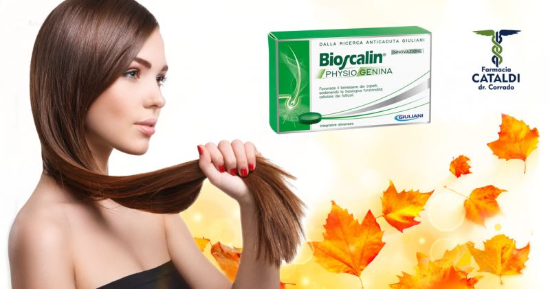 offerta trattamento anticaduta bioscalin - promozione mese benessere dei capelli