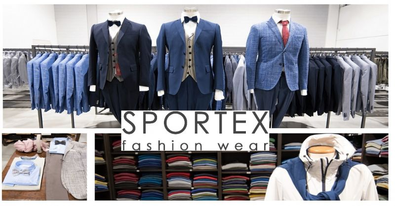 SPORTEX offer clothing distribution made in Italy - online fashion clothing sales opportunity