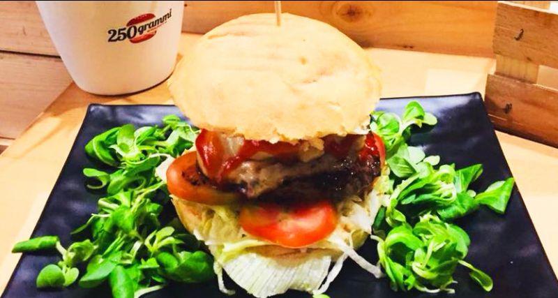 250 GRAMMI  hamburgheria offerta nuovo menu - occasione hamburger Catania