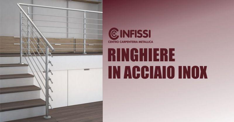 CENTRO CARPENTERIA METALLICA NARBOLIA - offerta ringhiere interne esterne acciaio inox misura