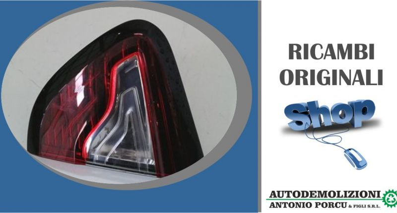 ANTONIO PORCU E FIGLI - offerta fanale posteriore interno destro usato originale Renault Captur