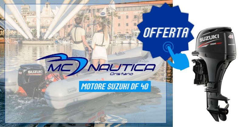 MC NAUTICA - offerta motore Suzuki DF 40 2019 compresa installazione