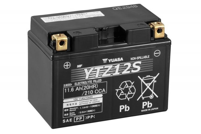 offerta vendita batteria yuasa ytz12 s 12 v 11 ah cca210a - occasione vendita batteria moto