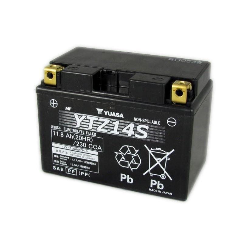 offerta vendita batteria yuasa ytz14 s 12 v 11,2 ah cca230a - occasione vendita batteria moto