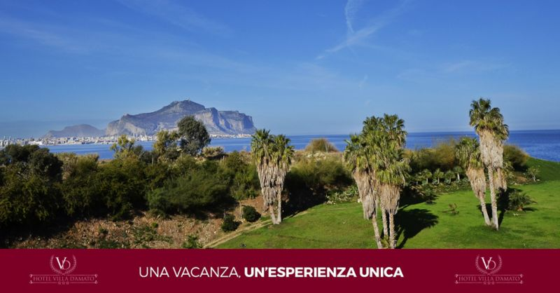 HOTEL VILLA D'AMATO offerta hotel con camera sul mare palermo