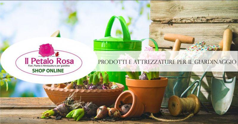 PETALO ROSA BUDONI vendita online - offerta prodotti attrezzature giardinaggio