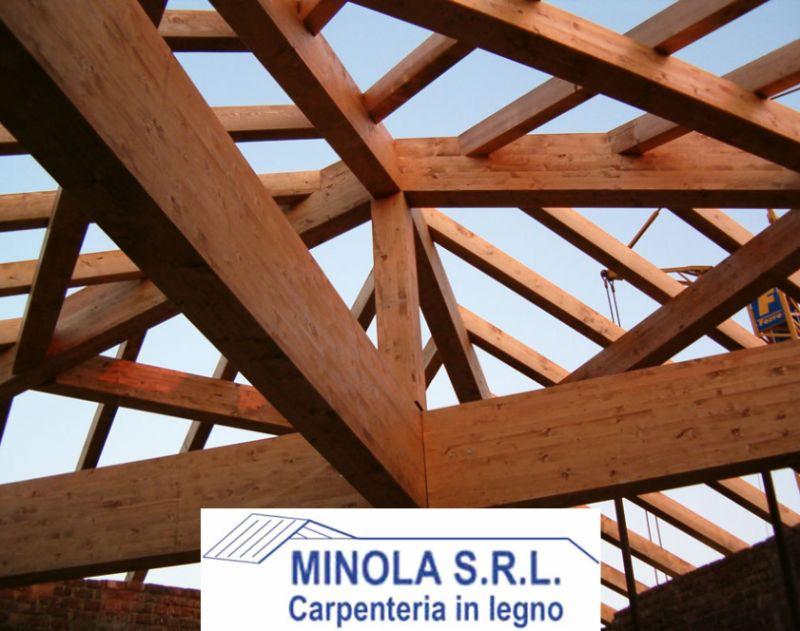 MINOLA SRL offerta realizzazione tetti coibentati - promozione rifacimenti tetti in legno