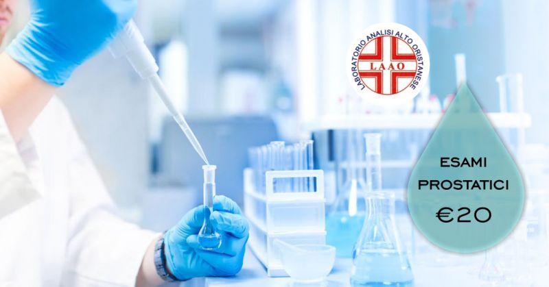 LAAO laboratorio analisi Abbasanta  - offerta check up esami prostatici