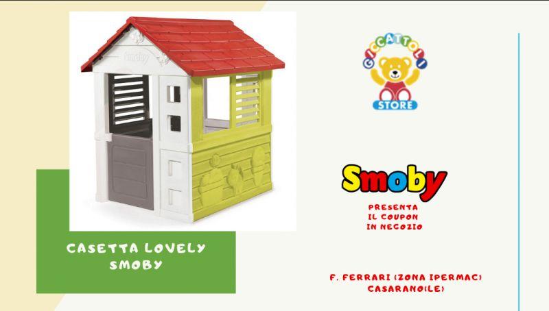 Offerta casetta lovely smoby - occasione casetta smoby lecce - offerta casetta lovely smoby