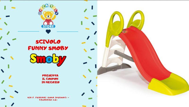 Offerta scivolo funny smoby - offerta scivolo smoby lecce - offerta smoby scivolo funny lecce