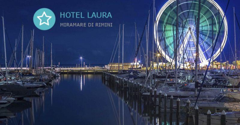 HOTEL LAURA - Angebot Hotel für günstige Ferien am Meer Miramare und Rivazzurra Rimini