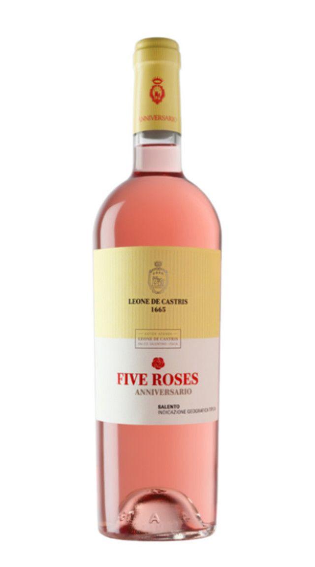 offerta leone de castris five roses rosato salento
