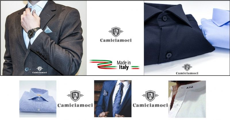 CAMICIAMOCI NAPLES - Offers online sales personalized shirts tailoring made in Italy