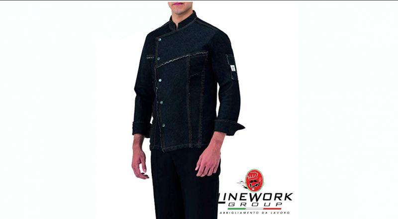 Linework Group offerta giacca da chef - occasione giacche da cuoco Napoli