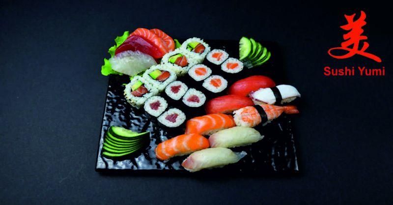 Sushi Yumi offerta ristorante giapponese - occasione menu all you can eat