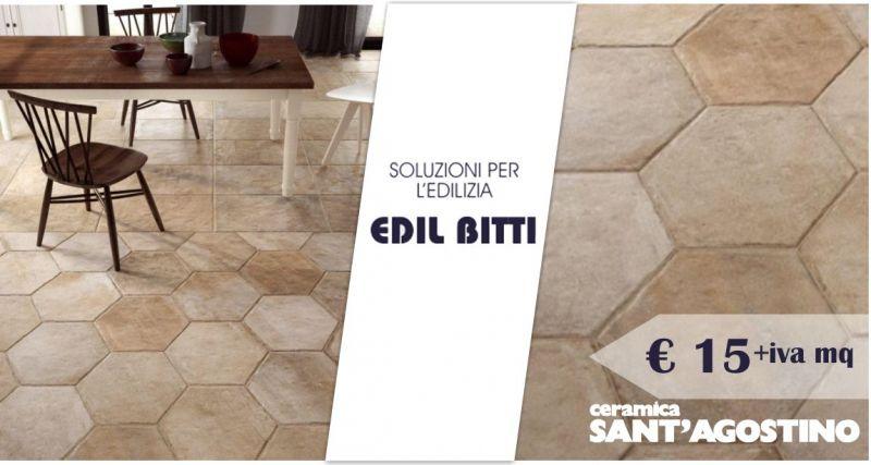EDIL BITTI - offerta piastrelle gres porcellanato formato esagonale ceramica Sant Agostino Native