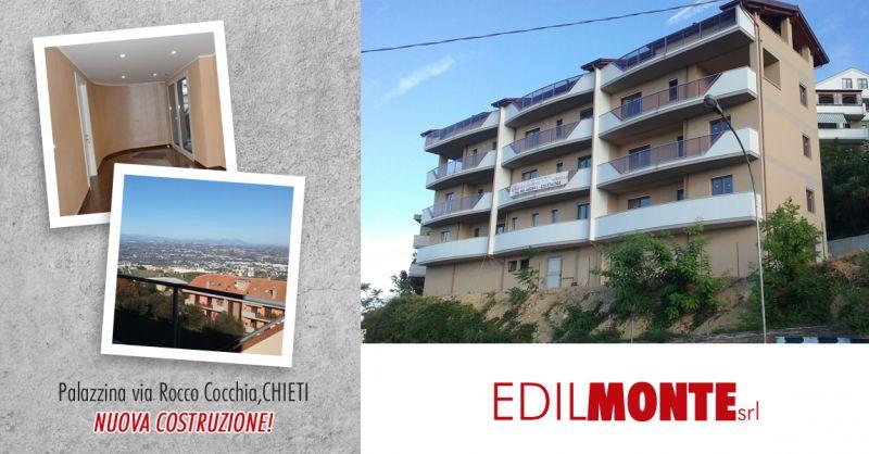 EDILMONTE SRL - offerta vendita nuovo appartamento palazzina chieti