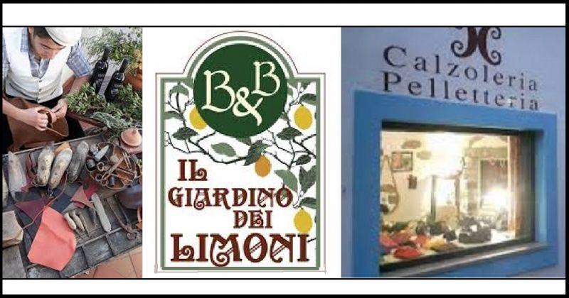 Il Giardino dei Limoni Bed and Breakfast - Calzoleria pelletteria artigianale made in Italy