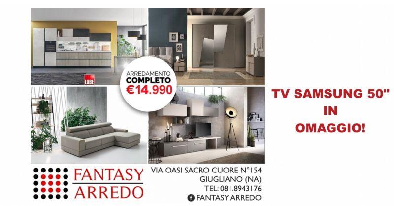 offerta mobili arredamento completo napoli - occasione smart tv samsung 50 pollici napoli