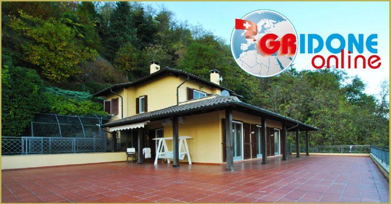 GRIDONE IMMOBILIARE Angebot Luxusvilla mitten im Grünen und idealer Privatsphäre Lago Maggiore