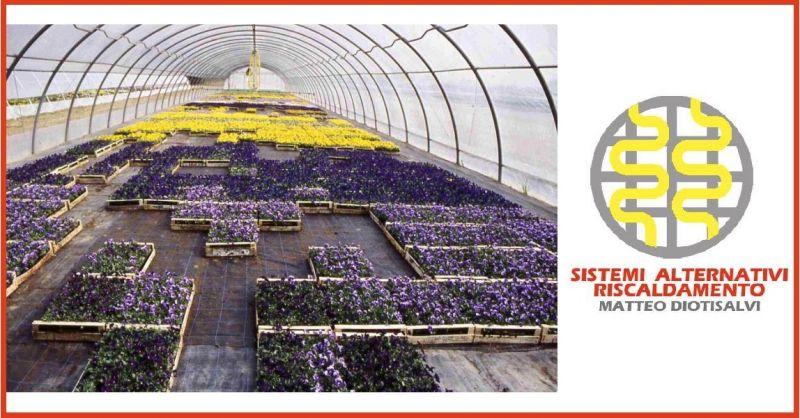 Online-Verkauf von Heiznetzen für landwirtschaftliche Gewächshäuser made in Italy