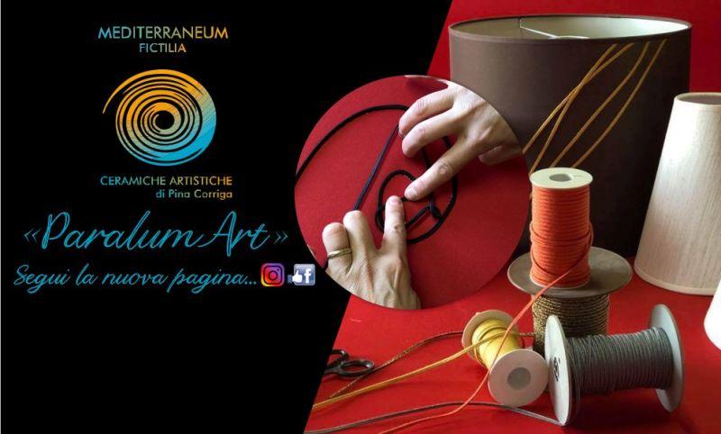 Mediterraneum Fictilia Pina Corriga - offerta paralumi personalizzati realizzati a mano