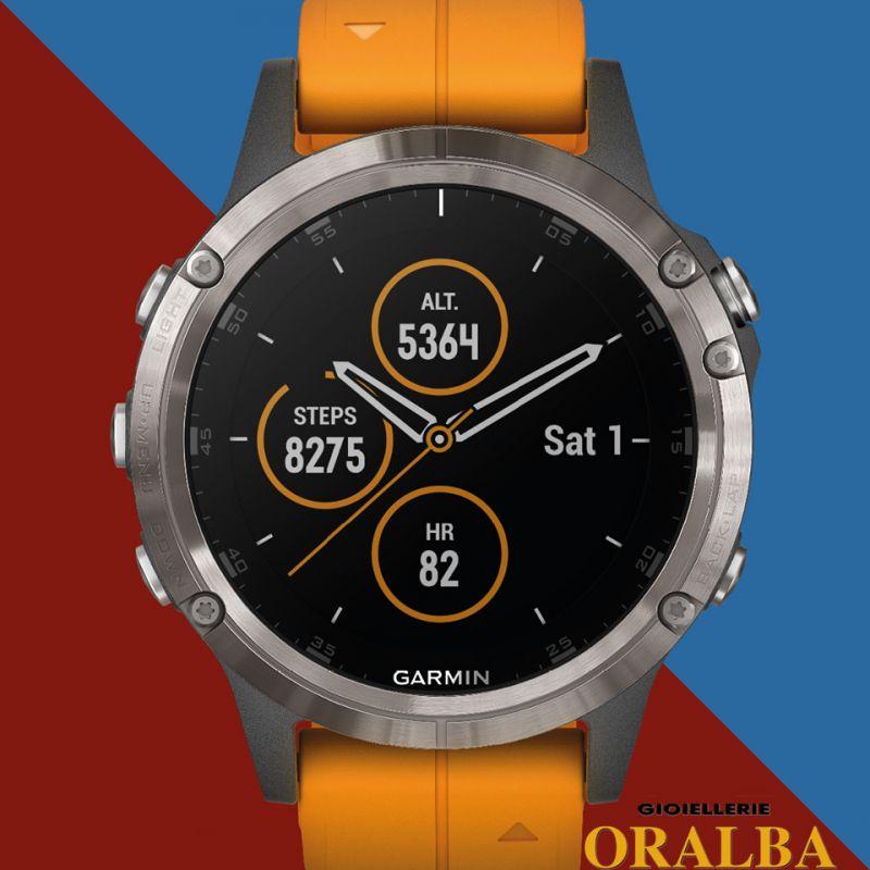 Gioellerie ORALBA - Offerta orologi GARMIN Smartwatch Fènix Titanium ad Alba Cuneo Valenza