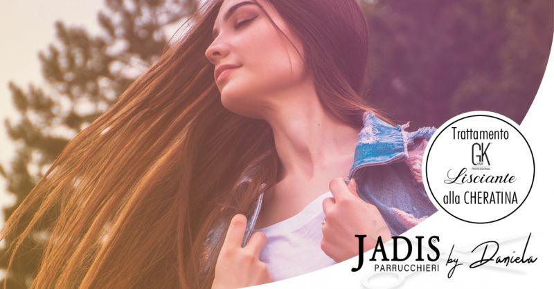 offerta trattamento lisciante cheratina osimo - occasione trattamento capelli crespi osimo