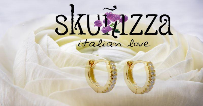 offerta orecchini in argento Napoli -  occasione piercing basso costo anallergico napoli
