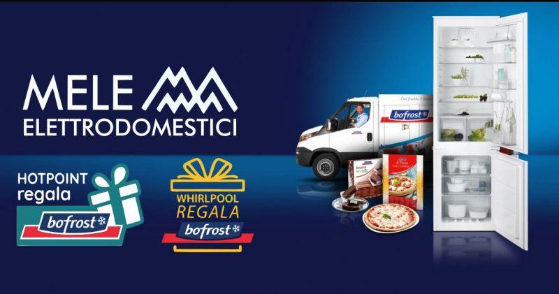 MELE ELETTRODOMESTICI Sassari - promozione Whirlpool o Hotpoint gift card Bofrost