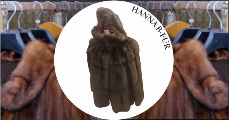 offerta vendita pelliccia di zibellino casale monferrato - occasione pelliccia di zibellino in sconto alessandria