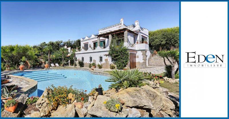 Eden Immobiliare - Offerta vendita villa di lusso con piscina fronte mare Livorno in Toscana