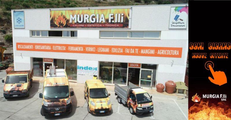 Murgia F.lli Arzana - offerta vendita e assistenza stufe legna e pellet