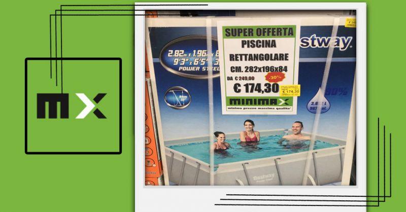 Offerta Piscina rettangolare Fuori terra Bestway Cagliari - Occasione Sconto Piscine Cagliari
