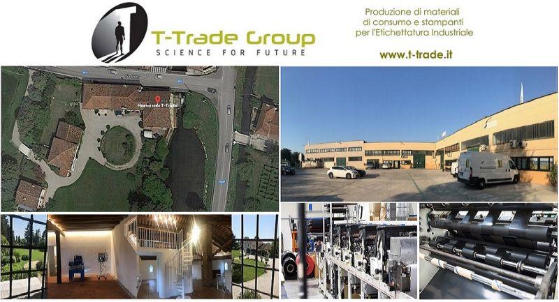 T-Trade - Produzione stampanti linerless etichette nastri trasferimento termico Made in Italy