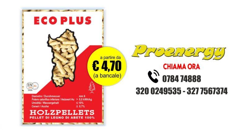 ProEnergy Electro Services - offerta pellet legno di abete consegna a domicilio